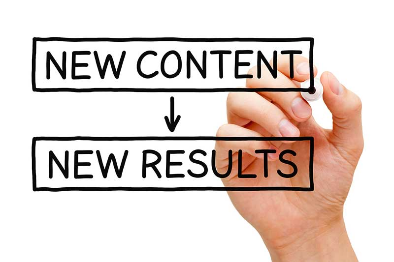 new content new results